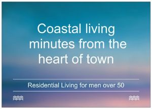 COMMUNITY LIVING FOR MEN OVER 50