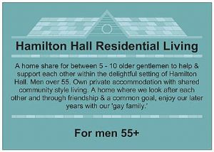 COMMUNITY LIVING FOR MEN