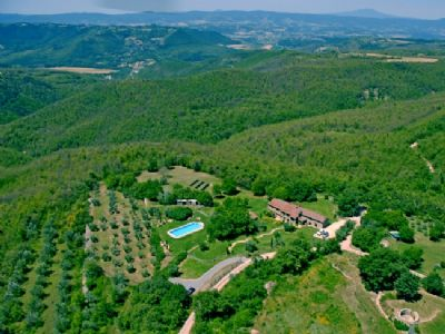 Antica Fattoria di Pietra (Stone House Retreat), Parrano, Tuscany - Umbria holiday accommodation