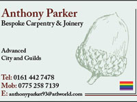 Anthony W Parker Bespoke Carpentry & Joinery